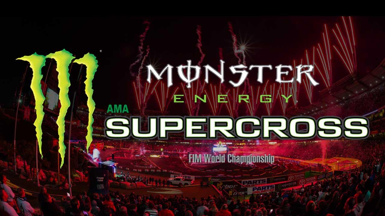 AMA Monster Energy Supercross Logo