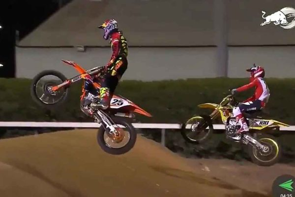 Marvin Musquin Josh Hansen 2017 Red Bull Straight Rhythm
