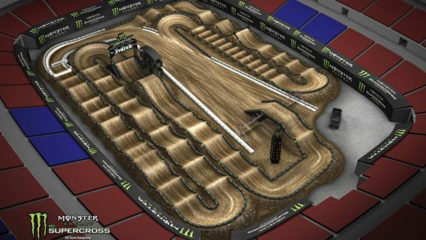 2018 AMA Monster Energy Supercross - St. Louis Track